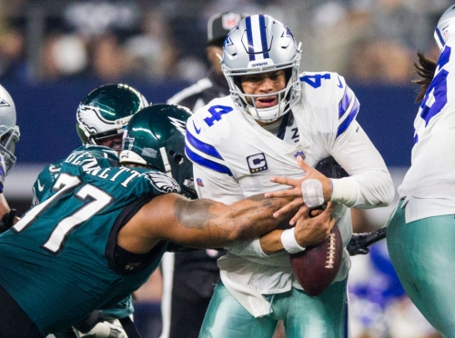 Dak Prescott's response to his biggest day of the season is rather fitting of his performance in Cowboys-Eagles
