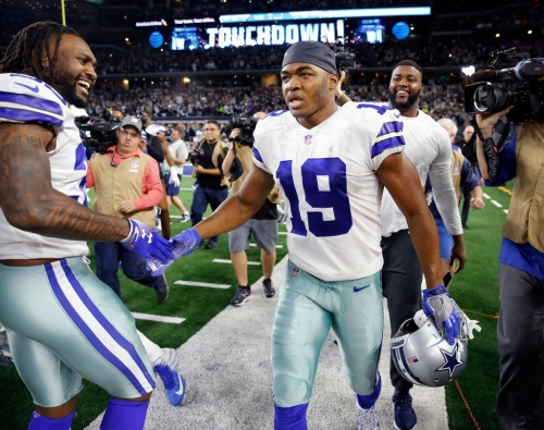 It's not Ezekiel Elliott or the 'tough SOB' at quarterback, Amari Cooper is the reason for the Cowboys' resurgence