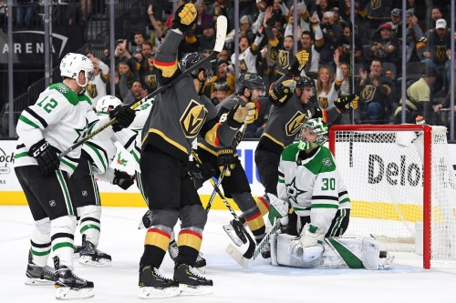 Year 2, Game 32: Golden Knights bounce back, defeat Dallas Stars 4-2 in special teams battle