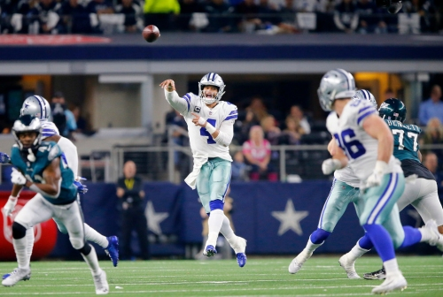 It defies logic! Cowboys' Dak Prescott did 3 things vs. Eagles that lead to losses in the NFL -- and somehow won