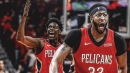 Pelicans' Jrue Holiday makes lobs more difficult to show off Anthony Davis' athleticism