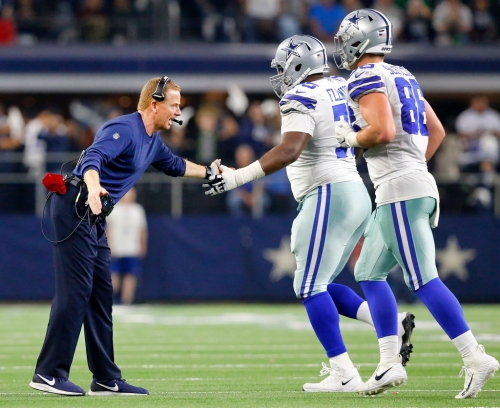 Cowboys owe no apologies for their good fortune, and they appear to have the right coach for the position they're in