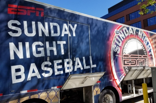 ESPN Sunday Night Baseball will start an hour earlier in 2019