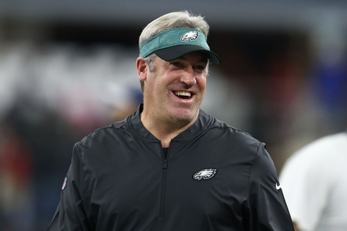 Doug Pederson has played it much safer in 2018