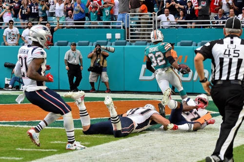 Sunday's game earns its place among the worst regular season losses in Patriots history