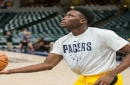 Indiana Pacers star Victor Oladipo could return to practice tomorrow