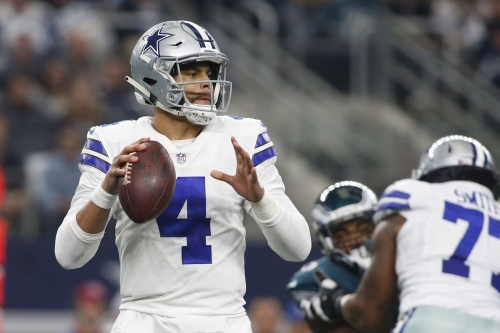 Dak Prescott's 455 yards against the Eagles were the most ever by a Cowboys quarterback in a win