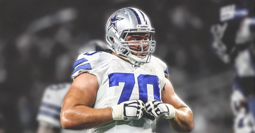 Cowboys worried about health of Zack Martin after guard suffered knee injury vs. Eagles
