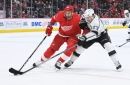 Detroit Red Wings use Jimmy Howard's 42 saves to top lowly Kings, 3-1