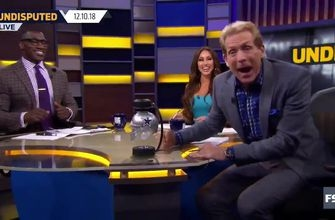 'HOW 'BOUT THEM COWBOYS?!' Skip Bayless brought the props after Dallas' big win, much to Shannon's chagrin