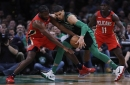 Jayson Tatum, Terry Rozier reprise playoffs roles for Boston Celtics against New Orleans