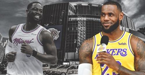 LeBron James' message to Dwyane Wade hints Knicks were an option