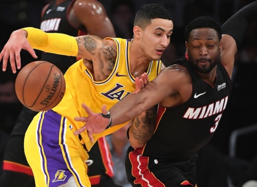 Lakers Highlights: Kyle Kuzma Steals Show As LeBron James Wins Final Meeting With Dwyane Wade & Swaps Jerseys