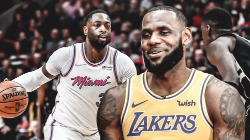 LeBron James says 'here or The Garden' comment to Dwyane Wade didn't have to do with possibly joining Knicks