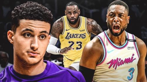 Lakers' Kyle Kuzma calls LeBron James-Dwyane Wade battles 'legendary'