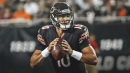 Bears QB Mitchell Trubisky 'disappointed' in his play against the Rams