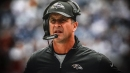 Ravens coach John Harbaugh refuses to reveal plan for the quarterback position with Joe Flacco healthy