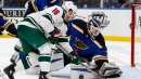 Ducks claim goaltender Chad Johnson off waivers from Blues