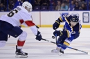 Panthers at Blues Preview: The Schwartz may be with us tonight
