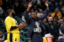 Pacers Victor Oladipo practiced Tuesday, non-committal on playing Wednesday