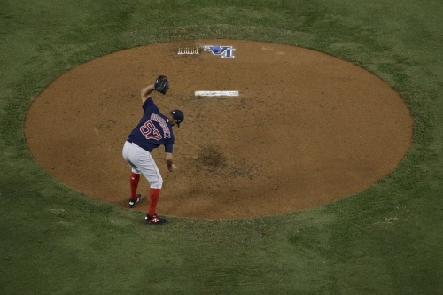 Red Sox's Eduardo Rodriguez jokes he 'almost opened hole' throwing glove during World Series, explains why he did it (video)