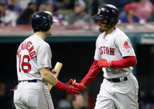 Mookie Betts to bat second in 2019 Boston Red Sox lineup, Andrew Benintendi to move to leadoff spot
