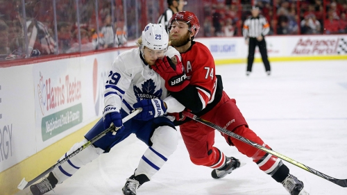 Maple Leafs, Nylander regain composure in win over Hurricanes