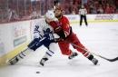 Nylander cracks scoresheet as Leafs pummel Hurricanes