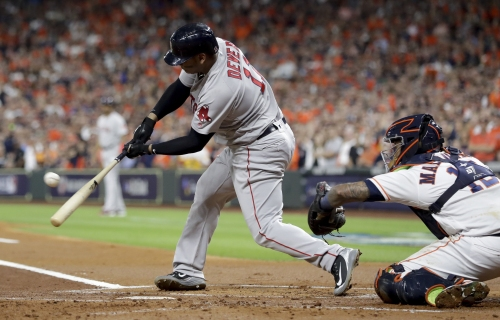 Boston Red Sox 3B Rafael Devers focused on conditioning this winter