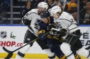 Kings fall to Sabres in OT; Drew Doughty, Dion Phaneuf leave with injuries