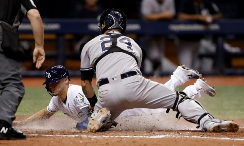 New York Yankees betting on better days ahead for slugging catcher Gary Sanchez