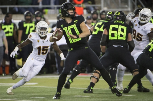 2019 NFL mock draft: Todd McShay predicts Justin Herbert to Jaguars