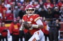 Chiefs quarterback Patrick Mahomes' no-look passes are the talk of the NFL