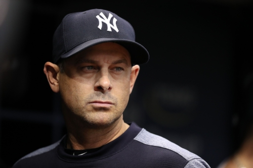 Updates on Yankees players from manager Aaron Boone
