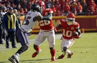 Chiefs' Hill showing he's more than just speed at WR