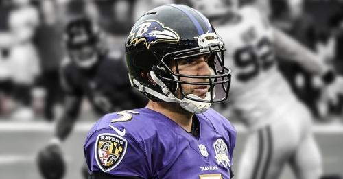 Ravens QB Joe Flacco not surprised by losing starting job