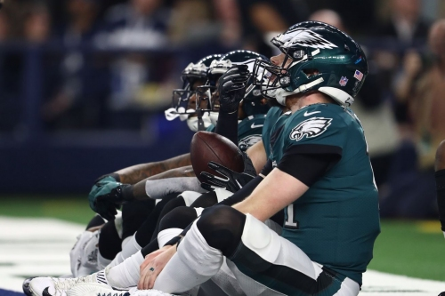 Eagles Injury Report: Carson Wentz sits out, Avonte Maddox returns