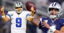 Cowboys QB's Dak Prescott, Tony Romo have similar numbers in fourth quarter and overtime