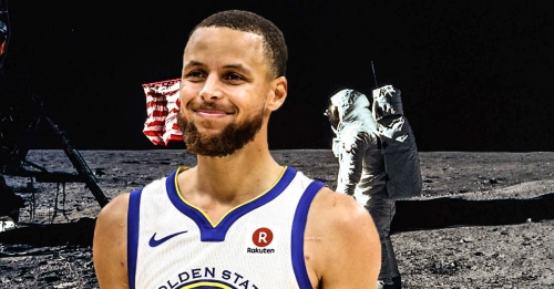 Warriors' Stephen Curry says he was joking about moon landing being fake
