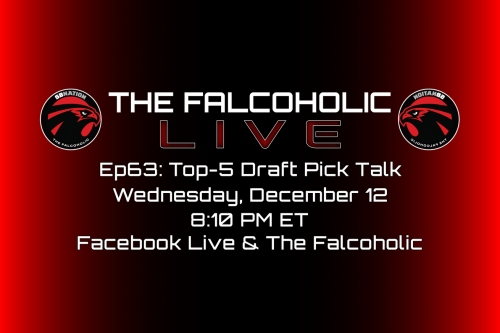 The Falcoholic Live: Ep63 - Top-5 Draft Pick Talk