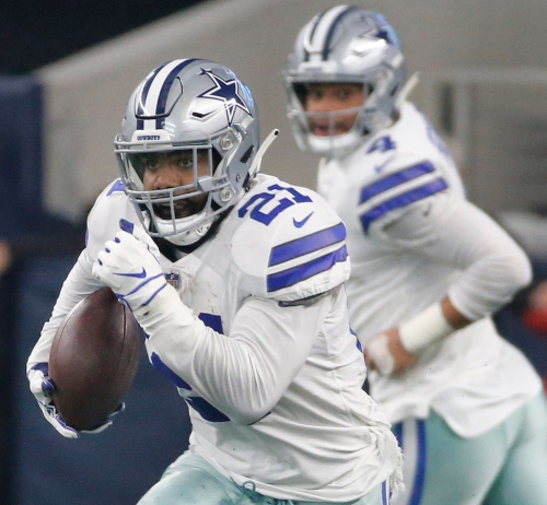 Cowboys RB Ezekiel Elliott is on the verge of history, but a rushing title doesn't top his list of priorities