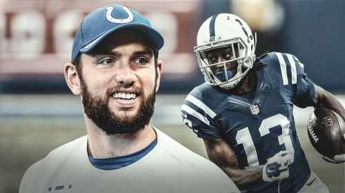 Colts QB Andrew Luck does not hold back on praise for T.Y. Hilton