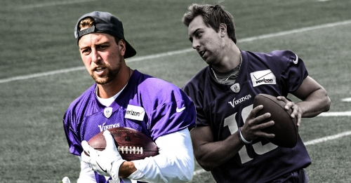 Vikings WR Adam Thielen practices in full despite ankle injury