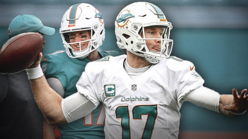 Dolphins QB Ryan Tannehill is encouraged by how his ankle feels
