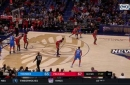 HIGHLIGHTS: Dennis Schroder with the Tear Drop in the 3rd
