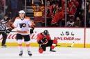 Calgary Flames (6) - Philadelphia Flyers (5) OT: Flames Overcome 2 Goal Deficit, Gaudreau Wins It In OT