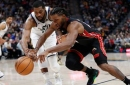 Short-handed Heat off target in blowout loss to Jazz