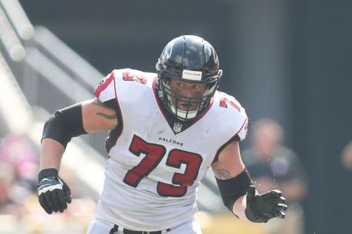 Falcons RT Ryan Schraeder feels like he should be starting