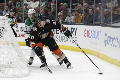 Kase gets 1st NHL hat trick as Ducks rally past Stars 6-3