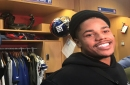 WATCH: Giants wide receiver Sterling Shepard goes undercover as Modell's employee